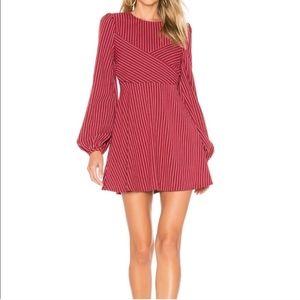 Tularosa Red Stripe Dress Medium